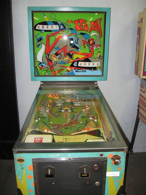 Sea Ray Vintage Pinball Machine Flickr Photo Sharing
