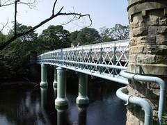 Deepdale Aqueduct and Footbridge (1893)