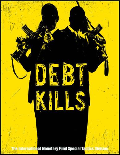 IMF - Debt kills