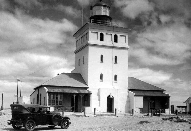 Mouille Point lighthouse circa 1925.