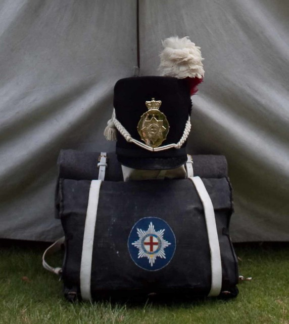 Coldstream guards a regency re enactment at kedleston hall
