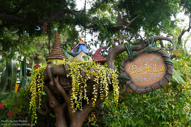 Disneyland Aug 2010 - Pixie Hollow