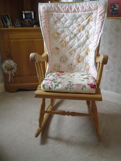 nellie 39 s rocking chair quilt flickr photo sharing. Black Bedroom Furniture Sets. Home Design Ideas