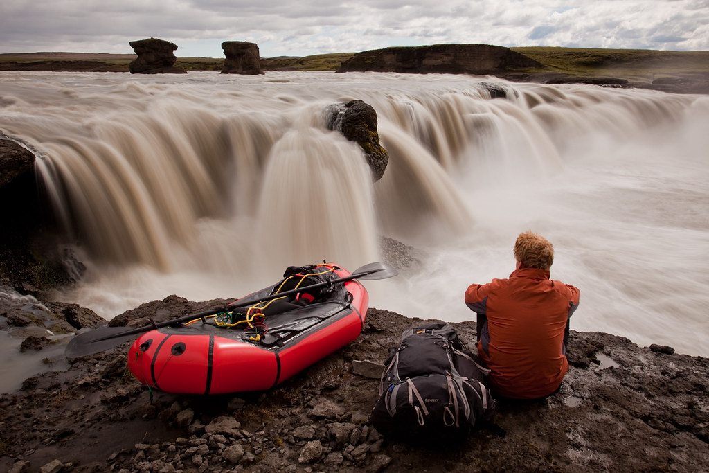 Packrafting the River Þjórsá