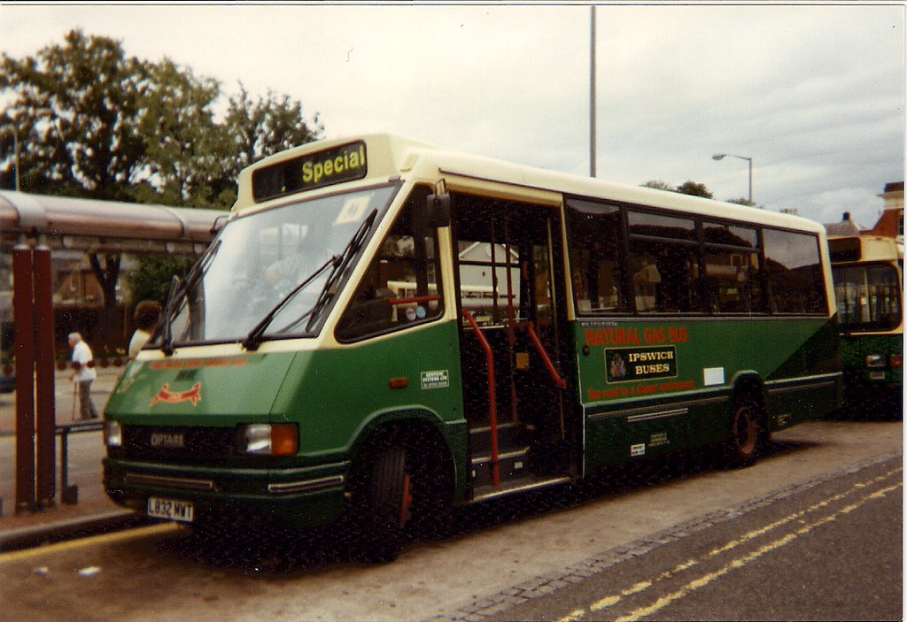 Gas powered Optare Metrorider
