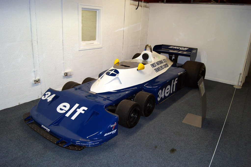 Tyrrell P34 F1 Racing Car