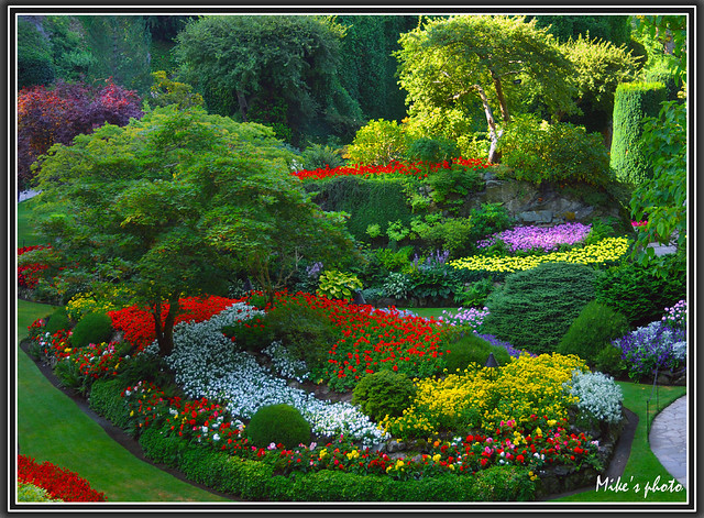 Butchart Gardens Victoria Bc Canada Flickr Photo Sharing