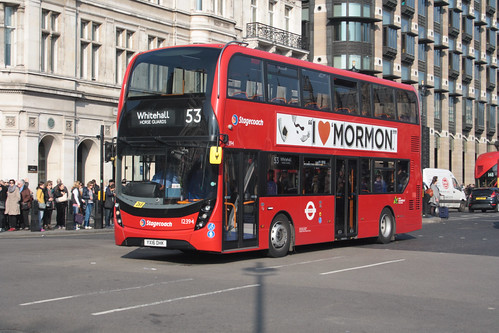 Stagecoach London 12394 YX16OHK