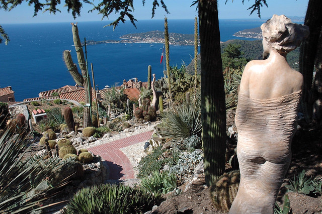 Eze Jardin Exotique Statues Of Statue De J P Richard Dans Le Jardin Exotique D 39 Eze Village Flickr Photo Sharing