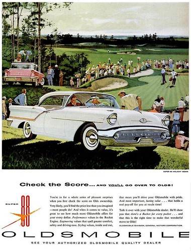 1957 Oldsmobile Super 88 Advert