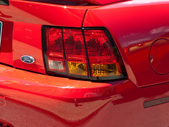 1999 Ford Mustang Cobra rear detail
