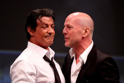Sylvester Stallone & Bruce Willis