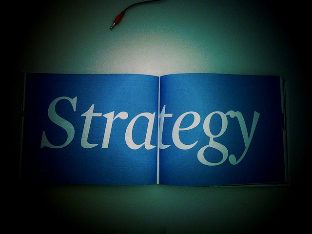 Strategy from Flickr via Wylio