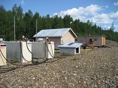 Yukon Charley Rivers National Preserve - Coal Creek airstrip fuel storage