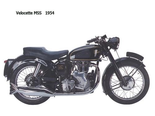 Velocette MMS 1954
