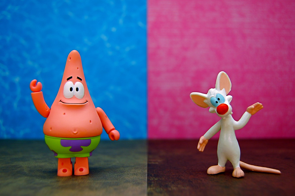 Patrick Star vs. Pinky (246/365)