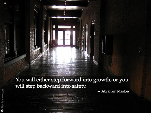 Step forward into growth, or...