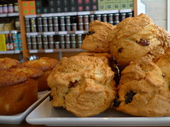 Scones at Bread & Roses
