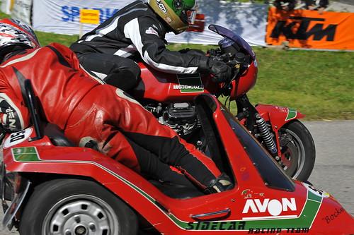 Moto Guzzi sidecar racer :: ru-moto classic motorcycles © Egger 5716