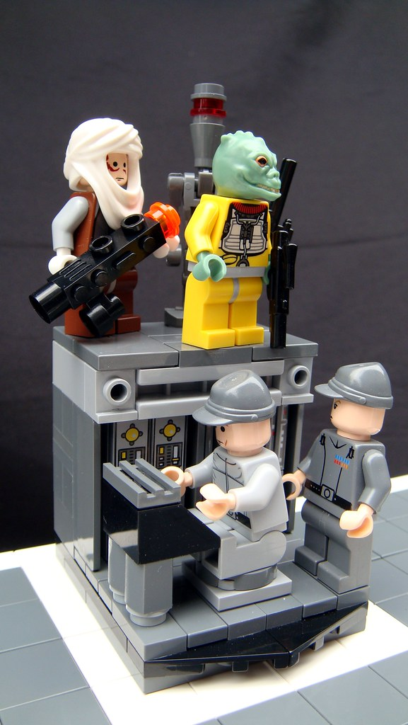 Star Wars The Empire Strikes Back Lego Chess Bounty Hunte Flickr