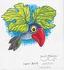 Le Corbeau d'Arcimboldo vu par le dessinateur roumain Puiu Manu
