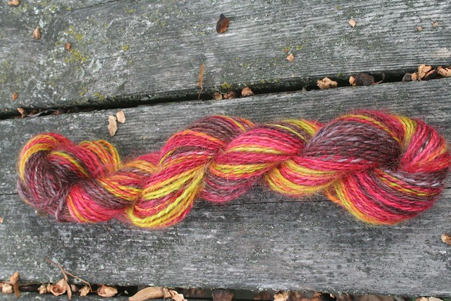 spun :: Hello Yarn August Fiber