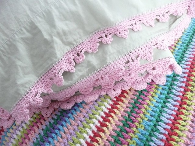Crocheting Borders : Cotton Crochet Border Flickr - Photo Sharing!