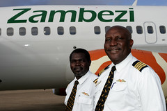 Zambezi Airlines Cockpit Crew