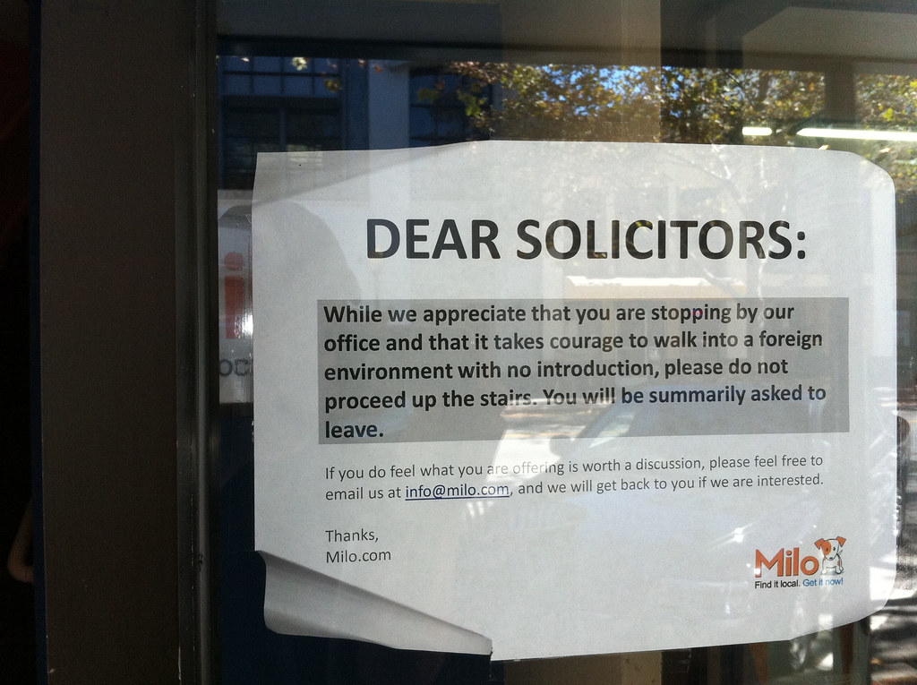 Dear solicitors...