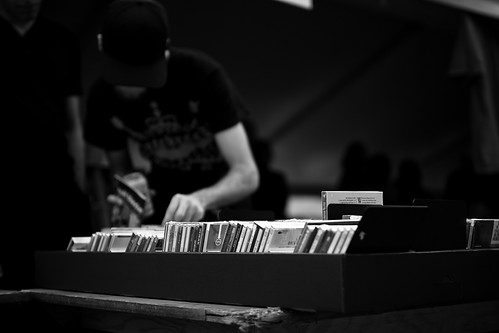 Perusing the Jazz Selection by Dom Cruz