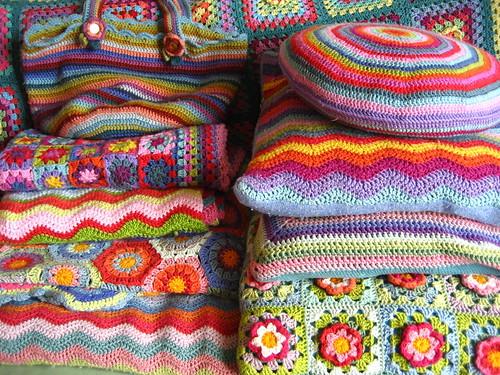 Crochet piles