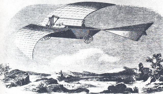 Werner Siemens ornithopter 1850s