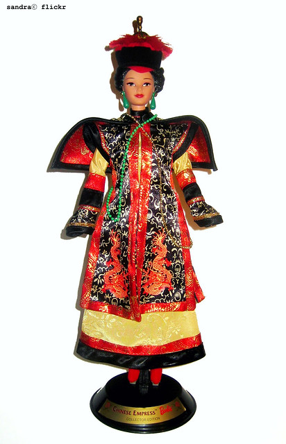 Barbie Emperatriz de China.