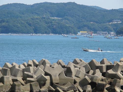 sea japan 日本 海 mie toba arashima 三重県 鳥羽市 テトラポッド 安楽島 大村島