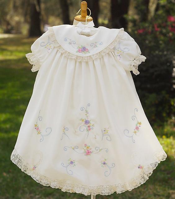 Ribbon embroidery dress patterns makaroka