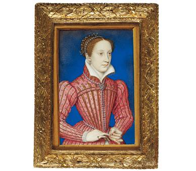 Mary, Queen of Scots portrait miniature