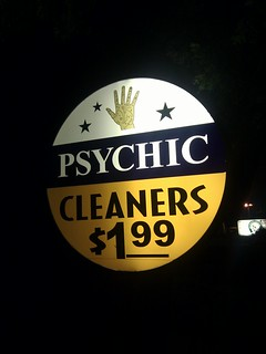 Psychic cleaners - we will know where your stains are | by codepo8