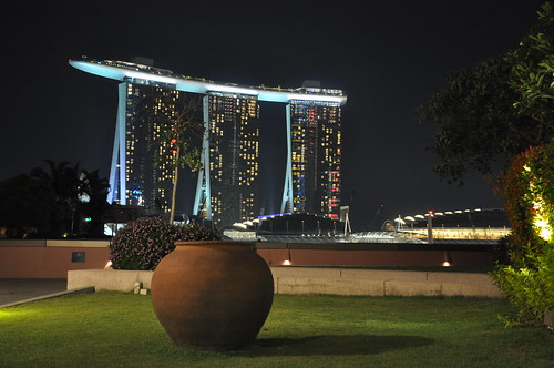 Marina Bay Sands,  Singapore - a view from Esplanade {Explored}