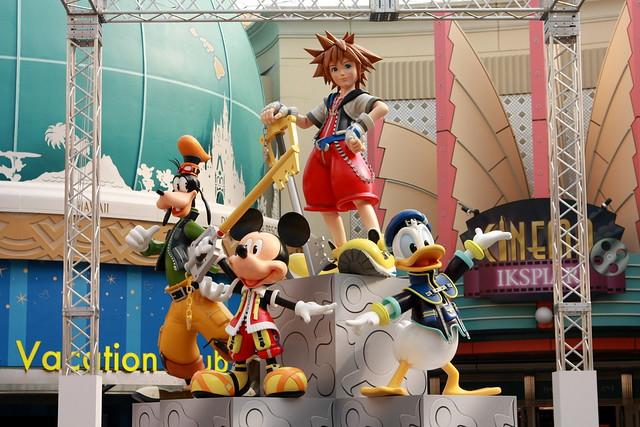 Goofy, Mickey, Sora, Donald