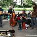 An American Bluegrass Band in Berlin - Kreuzberg Market