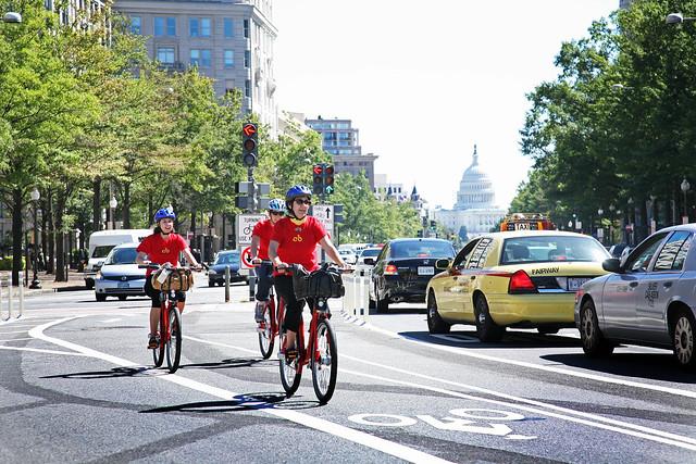 Capital Bikeshare Inaugural Ride