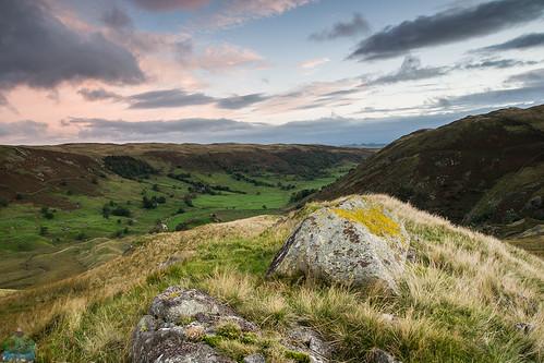 sunrise landscape rocks lakedistrict valley cumbria haweswater swindale mosedale wetsleddale easternfells