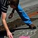 Tacoma Sidewalk Chalk - 2009-05-01