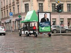 Zaļā reklāma Rīgas ielās 1