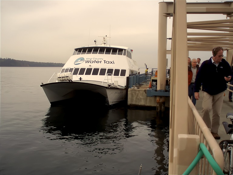 King County Water Taxi by Flikr user paulkimo90