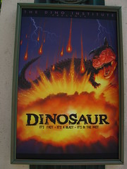 Dinosaur Ride at Dinoland USA
