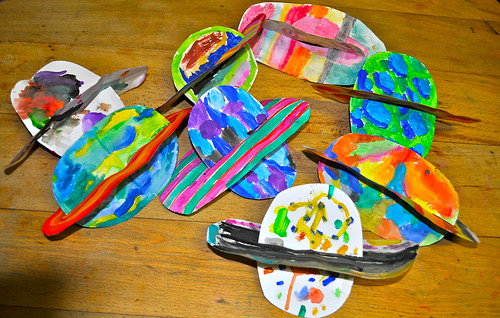 Galaxy of paper planets for kids crafts ideas crafts for Planet crafts for kids