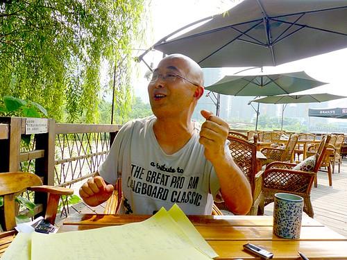 廖亦武 Liao Yiwu Wenjiang, Chengdu July 2010