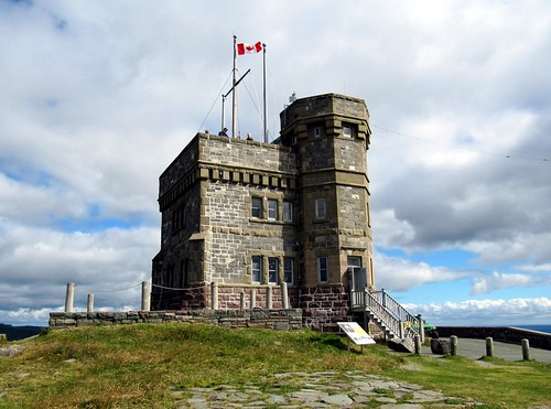 Historic Cabot Tower, Signal Hill National Historic Site, St. John's, Newfoundland, Canada