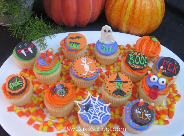 How To Decorate Cute Halloween Cupcakes By